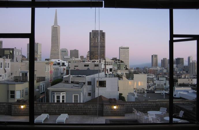 San Francisco, dusk