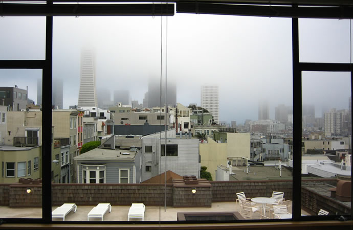 San Francisco, fog