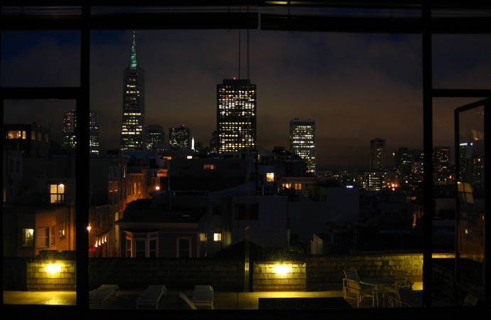 San Francisco, night