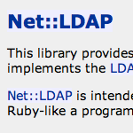 Net::LDAP