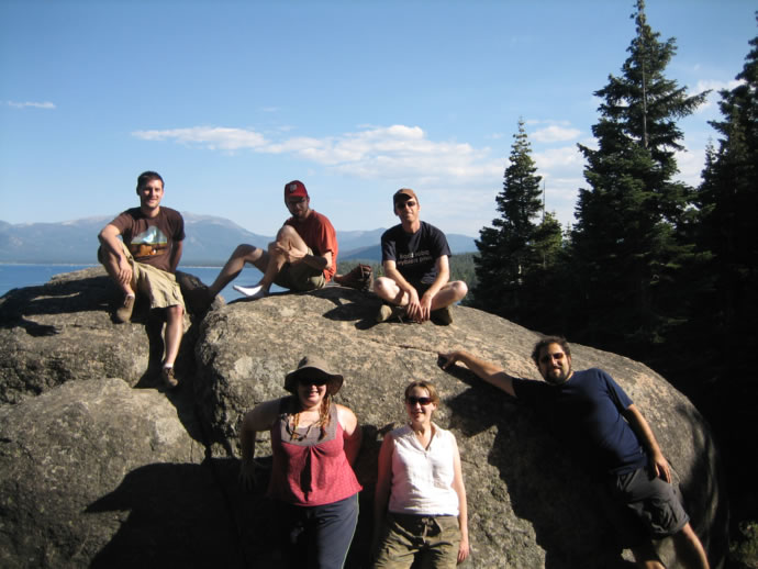 Group picture, on the Rubicon Trail