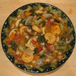 White Bean &#038; Vegetable Soup