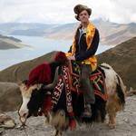 Me, on a yak